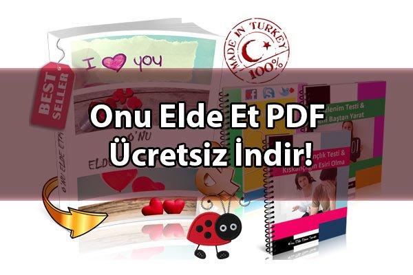 Onu Elde Et PDF Ücretsiz İndir
